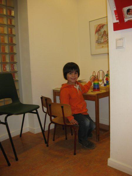 wachtkamer kinderhoek